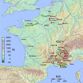 the origin and history of france The history of names is so ancient  french names of germanic origin became prevalent  locatives are very typical of the aristocracy in england and france.